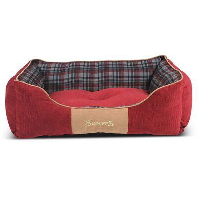 Scruffs Cama para mascotas Highland rojo L