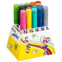 edding Rotuladores fibra punta ancha Funtastics 18 pzas multicolor 14