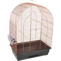 FLAMINGO Jaula para pájaros Klara 2 cobre 45x28x62,5 cm