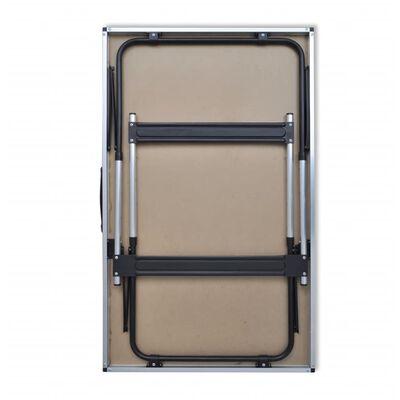 vidaXL Mesas de empapelar plegables de altura ajustable 3 unidades