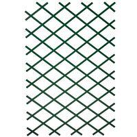 Nature Enrejado de jardín PVC 100x200 cm verde 6040704