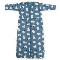 Jollein Saco de dormir para todo el año osos perezosos azul 70 cm