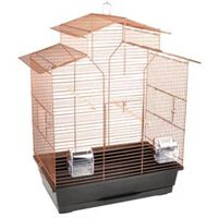 FLAMINGO Jaula para pájaros Numfor 1 cobre 51x30x60 cm