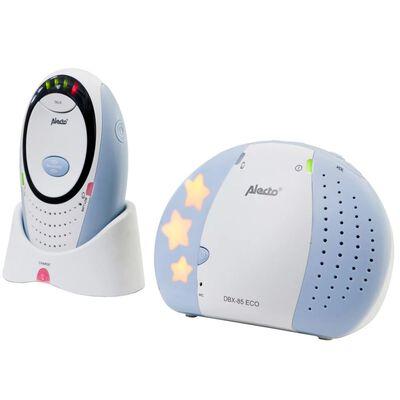 Alecto DECT Monitor de Bebés DBX-85 ECO Blanco y Azul