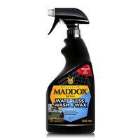 Maddox Detail - Waterless Wash & Wax - Cera Carnauba Limpieza sin agua