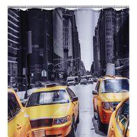 RIDDER Cortina de ducha New York 180x200 cm