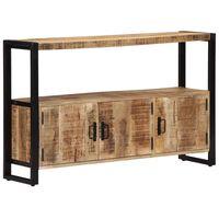 vidaXL Aparador madera maciza de mango 120x30x75 cm