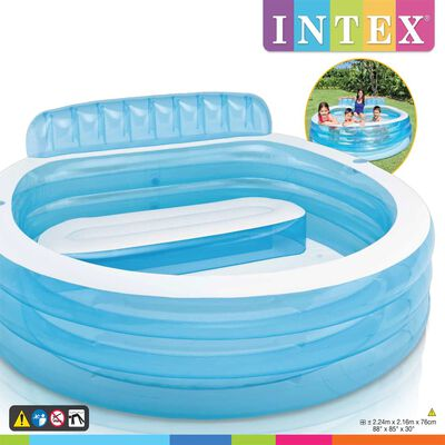 Intex Piscina inflable Family Lounge Pool 57190NP