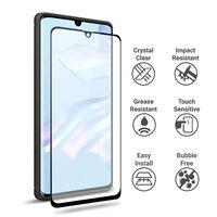 Protector de pantalla para Huawei P30 - negro