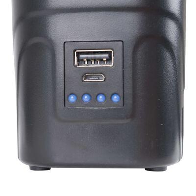 Bo-Camp Bomba eléctrica de cama hinchable con USB 250 L/min 12/230 V