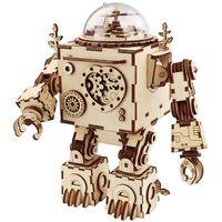 Robotime Kit maqueta DIY de caja de música Steampunk Orpheus