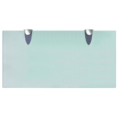 vidaXL Estante flotante de cristal 40x20 cm 8 mm