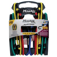 "Master Lock Ten Piece Bungee Cord Set ""Twin Wire"" 3043EURDAT"