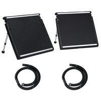 vidaXL Panel calefactor solar para piscina doble 150x75 cm