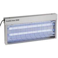 Kerbl Matamosquitos eléctrico de acero inoxidable EcoKill Inox 2030 299932