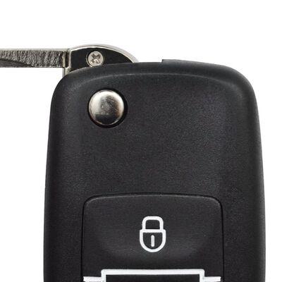 Cierre centralizado de coche con 2 llaves, 4 motores, VW/Audi/Skoda