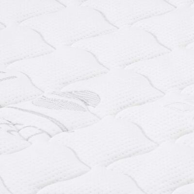 vidaXL Sobrecolchón 100x200 cm espuma de gel 7 cm