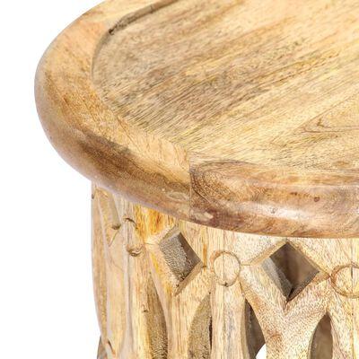 vidaXL Mueble para TV madera maciza de mango 120x30x40 cm