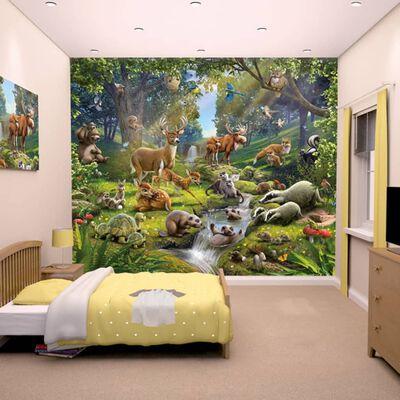 Walltastic Papel de pared fotográfico Animals Forest 43060