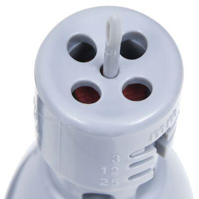 vidaXL Controlador riego con sensor de humedad y válvula solenoide