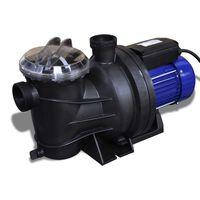 vidaXL Bomba de piscina eléctrica 800 W azul