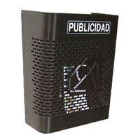 Buzon Publicidad Rejilla Negro - Btv - 241 - 24x30x13cm..