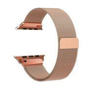 Apple Watch 1/2/3 Pulsera Lazo Milanesa 38 Mm - Oro Rosa