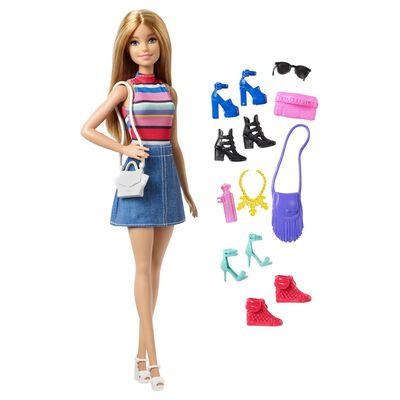 Barbie Muñeca y accesorios