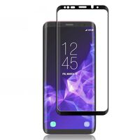 Protector de pantalla Samsung Galaxy S9 Plus vidrio templado / curvo 3
