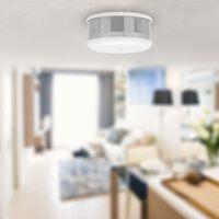 Smartwares Minidetector de humo blanco 7x7x3,4 cm