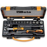 Beta Tools Juego de llaves de vaso y carraca 900/C13-5 009000953