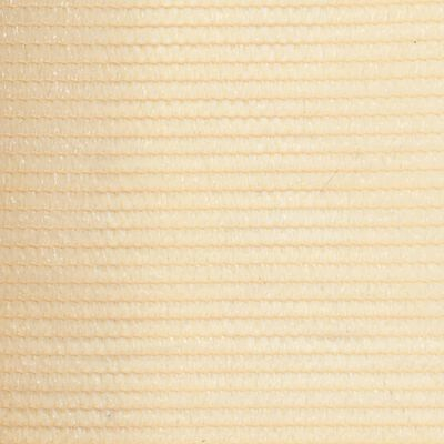vidaXL Red de privacidad HDPE 1x10 m beige