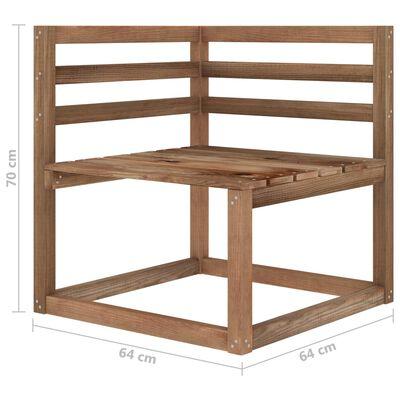 vidaXL Muebles de jardín 10 piezas con cojines beige