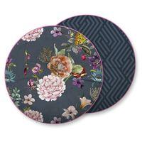 Descanso Almohada decorativa PARMA 55x55 cm gris antracita