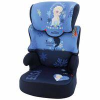 Disney Silla de coche para niños Befix Frozen 2 grupo 2+3 azul