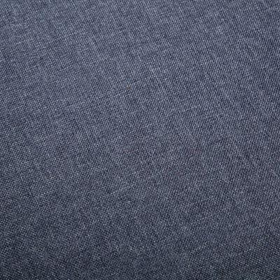 vidaXL Sillas de comedor 6 unidades de tela gris claro