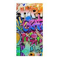 Good Morning Toalla de playa GRAFFITY multicolor 75x150 cm