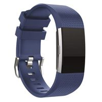Pulsera para Fitbit Charge 2 - Azul oscuro - L
