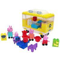 BIG Set de furgoneta camper Bloxx Peppa Pig 54 piezas