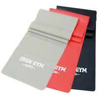 Iron Gym Set de bandas de ejercicio 3 piezas IRG042