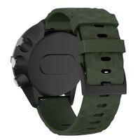 Correa compatible con relojes deportivos Suunto 24 mm - verde militar