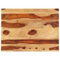 vidaXL Superficie de mesa madera maciza de sheesham 25-27 mm 60x90 cm