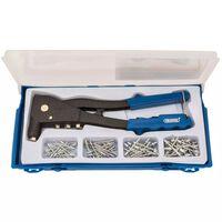 Draper Tools Set de pistola remachadora azul 27843