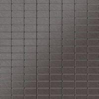 ALLOY Bauhaus-Ti-SB Mosaico de metal sólido Titanio gris