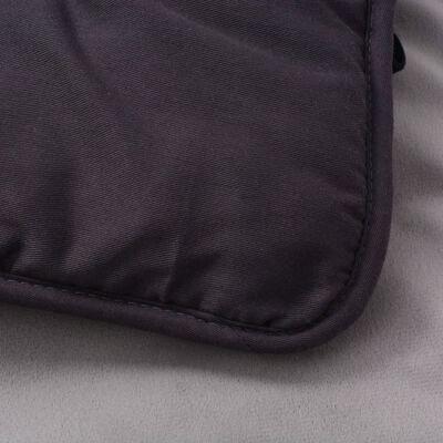 vidaXL Cama estera para perro Gris 65x80 cm