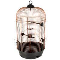 FLAMINGO Jaula para pájaros Sanna 2 cobre 34x34x67 cm
