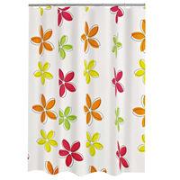 RIDDER Cortina de ducha Textile flores