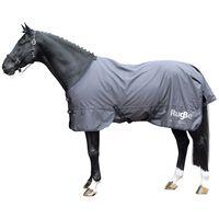 Covalliero Manta para caballos de exterior RugBe Zero gris 115 cm