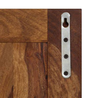 vidaXL Percheros 2 unidades madera maciza de sheesham