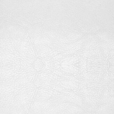 vidaXL Sillón de cuero sintético blanco